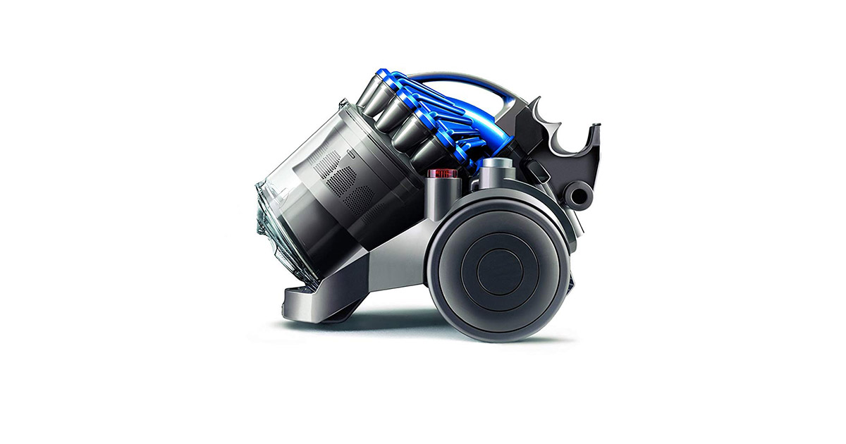 Dyson DC23 18299-01 TurbineHead Corded Canister Vacuum Cleaner image