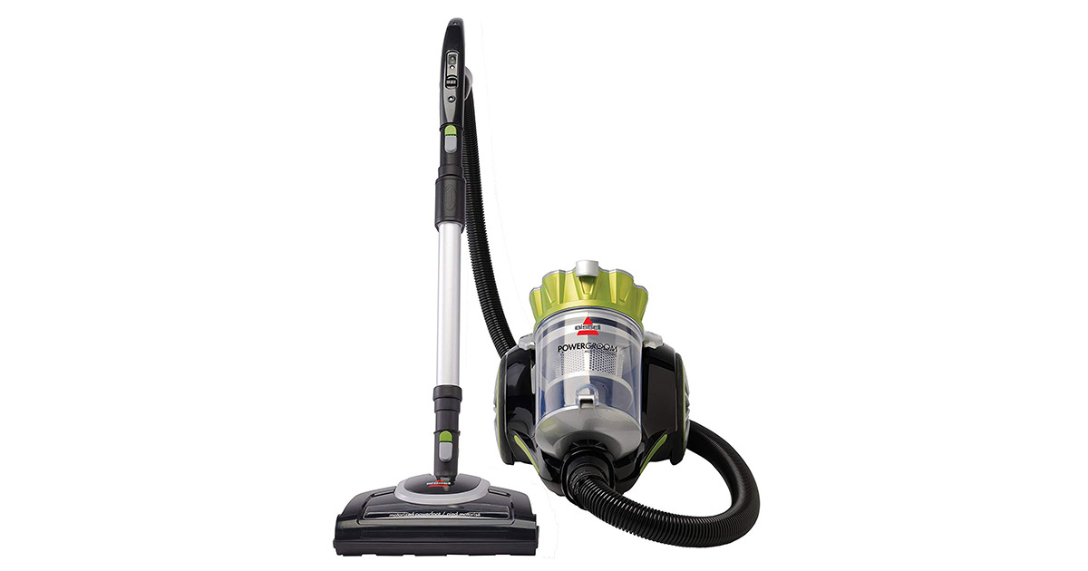 Bissell 1654 Powergroom Multicyclonic Bagless Corded Canister Vacuum image