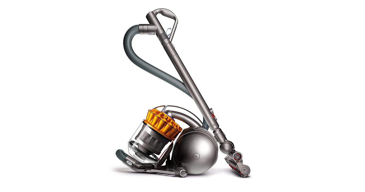 Dyson 205779-01 Ball Multi Floor Yellow or Iron Canister Vacuum Cleaner image