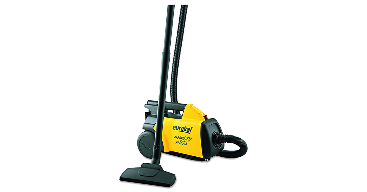Eureka 3670G Lightweight Mighty Mite Yellow Canister Vacuum Cleaner image
