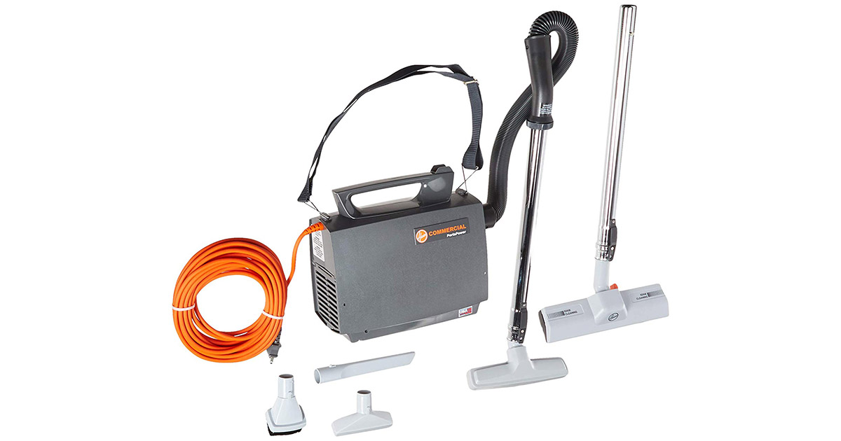 Hoover CH30000 PortaPower Lightweight Commercial Canister Vacuum Cleaner image