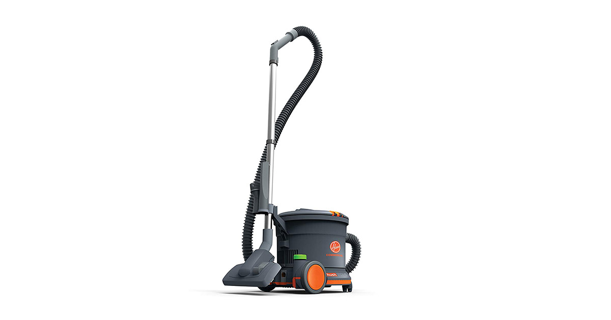Hoover Commercial CH32008 9L dry quart capacity Hush Tone Canister Vacuum Cleaner image