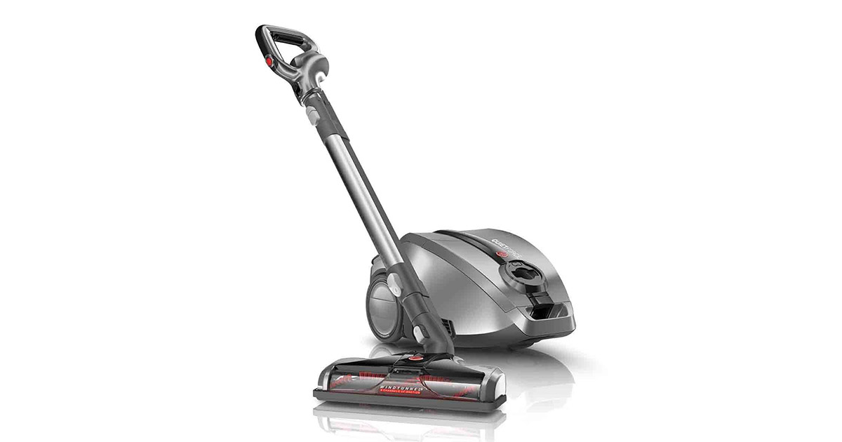 Hoover SH30050 Quiet Performance Bagged Corded Canister Vacuum Cleaner image