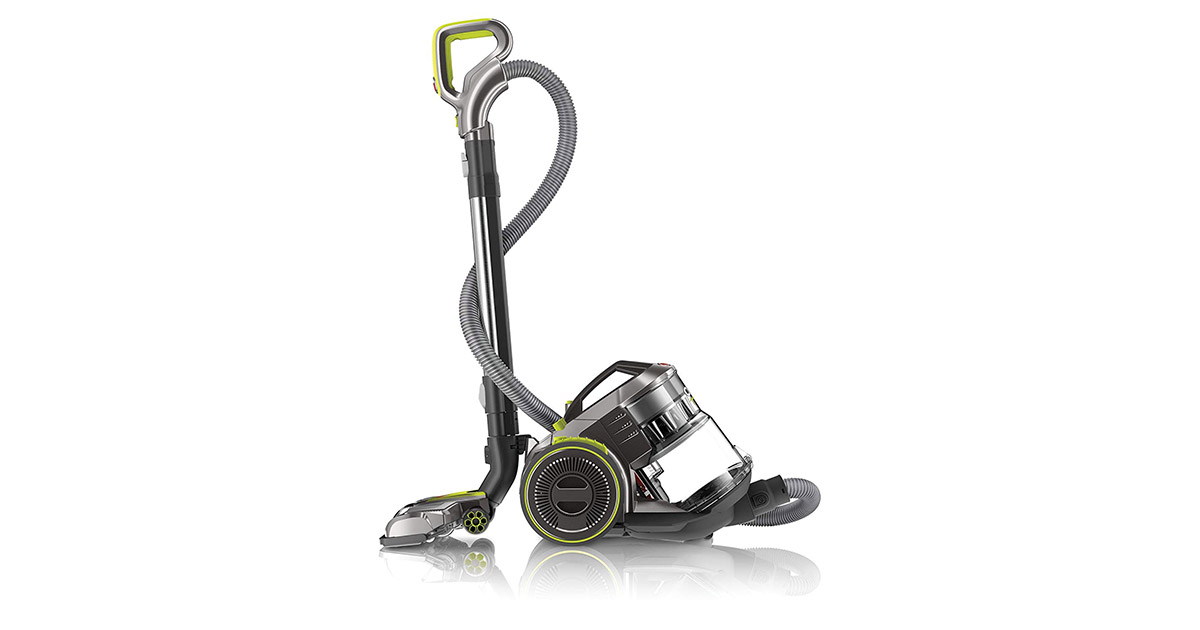 Hoover SH40075 Air Pro Bag less WindTunnel Corded Canister Vacuum Cleaner image