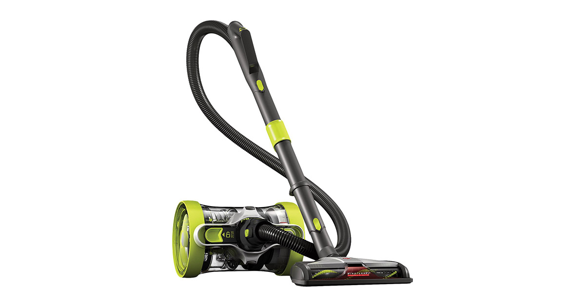 Hoover SH40090PC Air Revolve Multi Position Bagless Corded Canister Vacuum Cleaner image