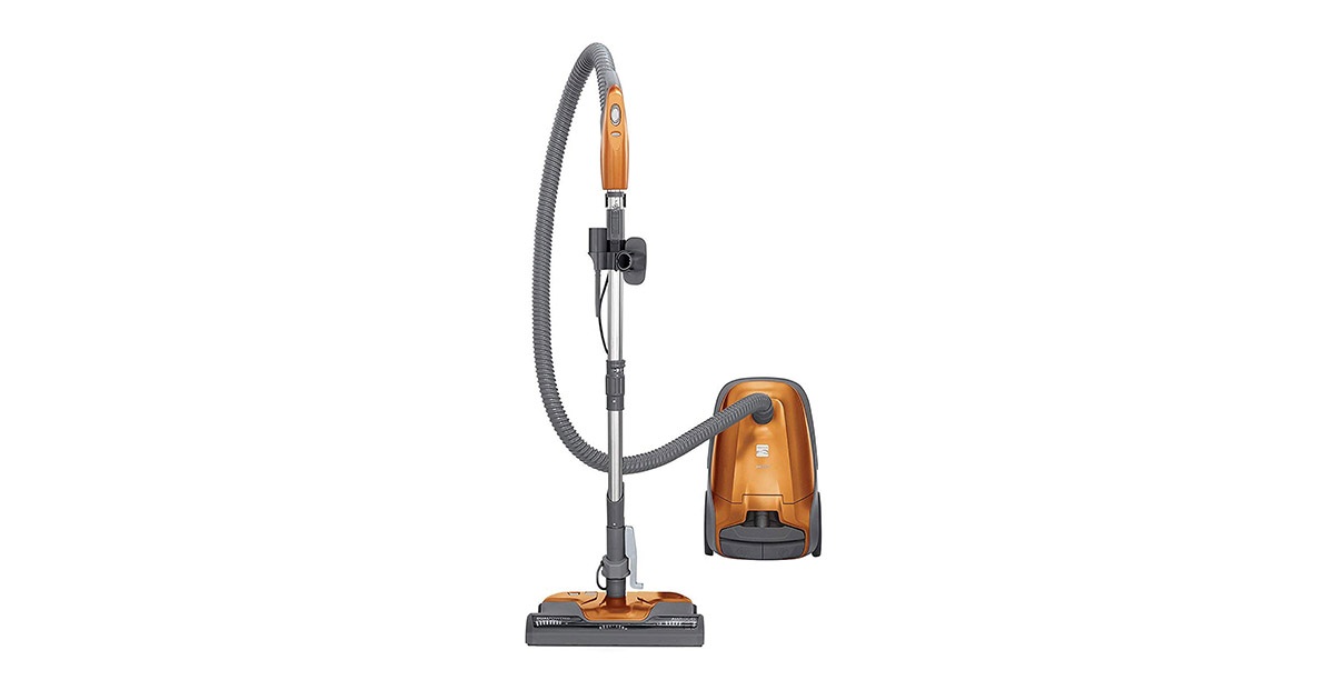 Kenmore 81214 200 Series Pet Friendly Lightweight Bagged Orange Canister Vacuum Cleaner image