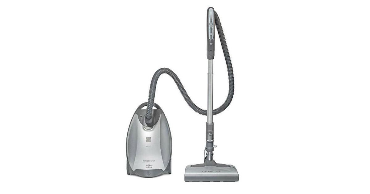 Kenmore Elite 21814 Pet Friendly CrossOver Lightweight Bagged HEPA Canister Vacuum Cleaner image
