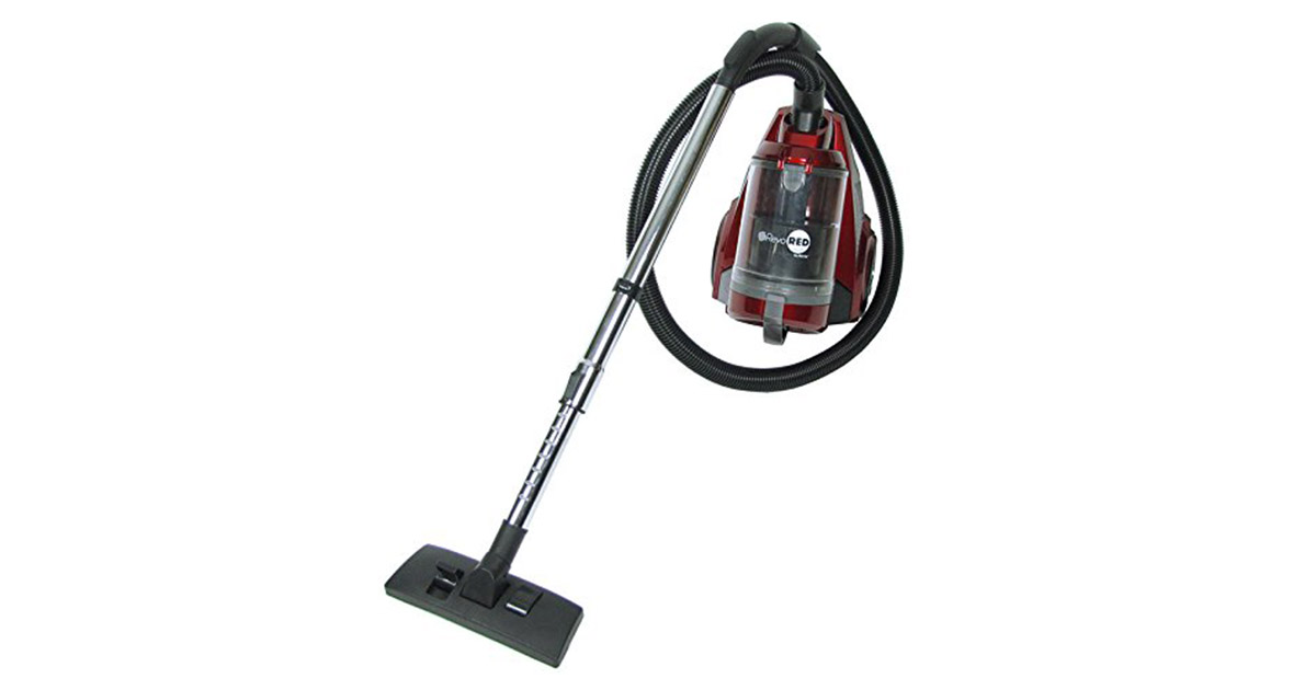 Artix AHC-RR Revo Red HEPA Certified Small Bagless Canister Vacuum Cleaner image
