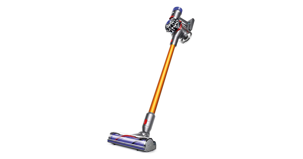 Dyson 214730-01 V8 Absolute Cordless Stick Yellow Vacuum Cleaner image