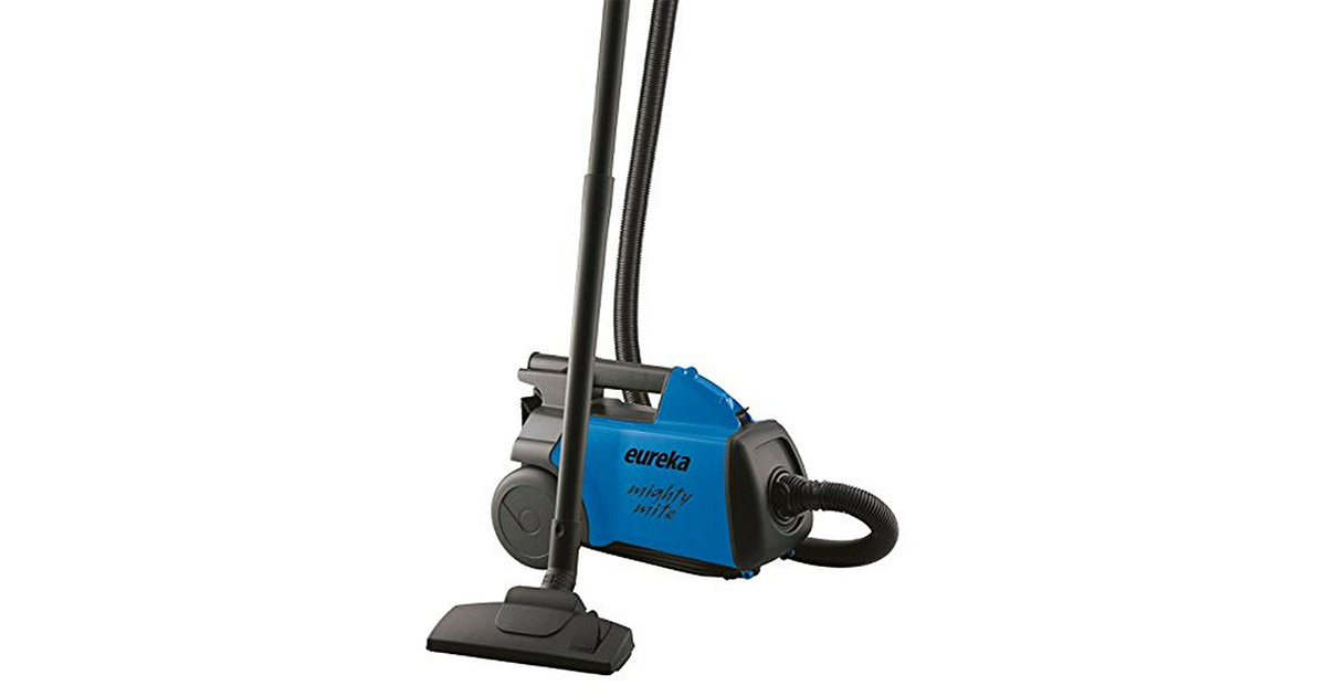 EUREKA 3670H Mighty Mite Bagged Blue Canister Pet Vacuum Cleaner image