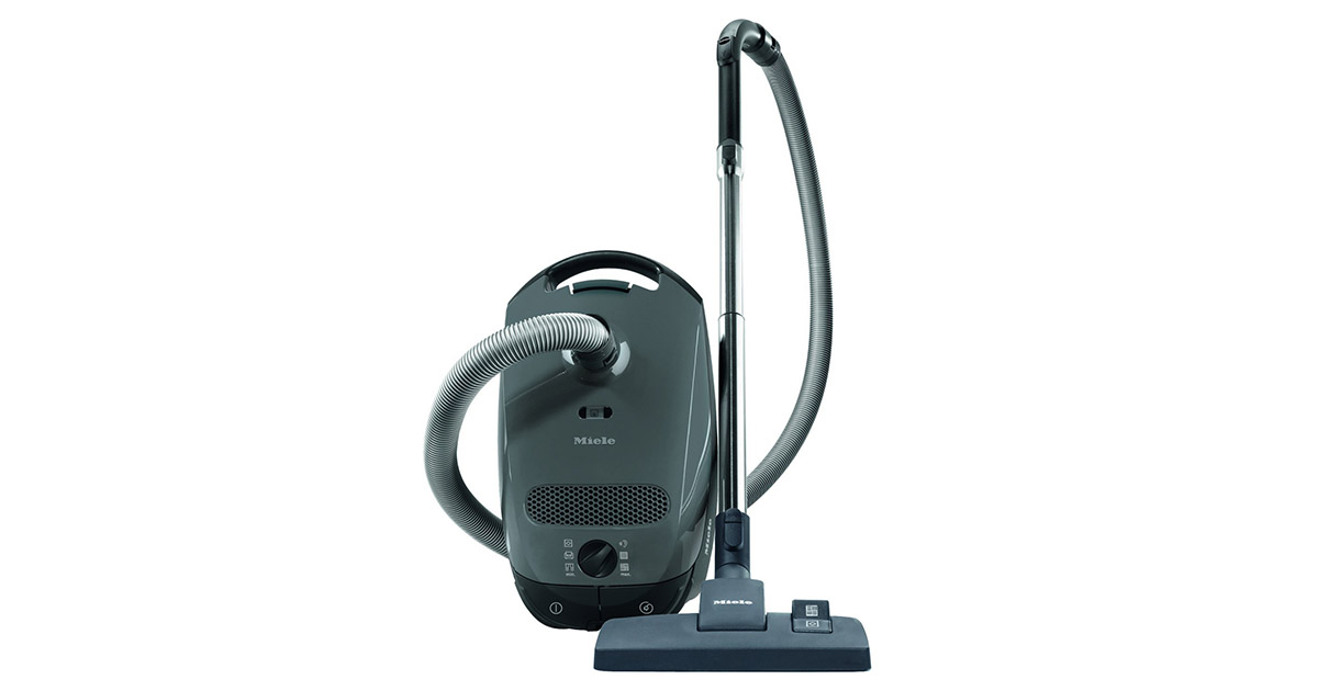 Miele Classic C1 41BAN043USA Limited Edition Graphite Grey Canister Vacuum Cleaner image