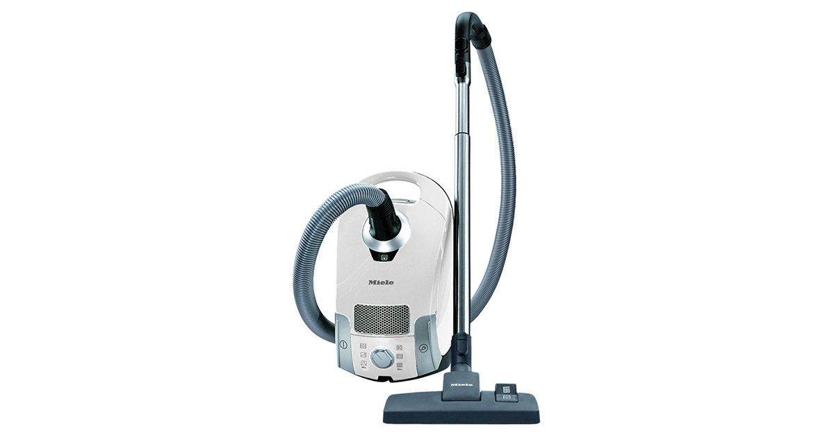 Miele Compact C1 Pure Suction Lotus White Canister Vacuum Cleaner image
