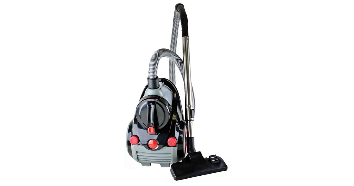 Ovente ST2010 Bagless Corded Canister Cyclonic Vacuum Cleaner image