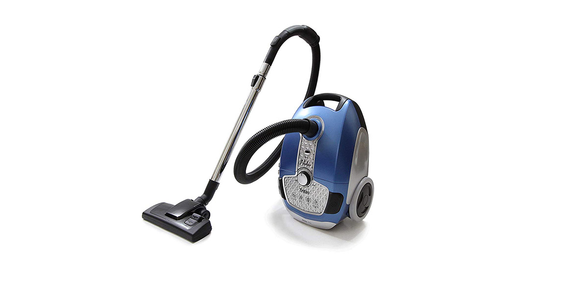 Prolux Tritan Blue HEPA Filtration Bagged Canister Vacuum Cleaner image