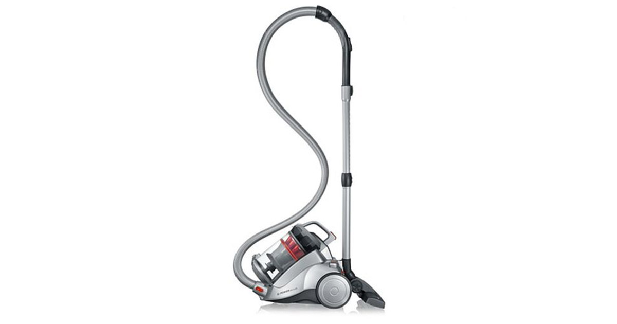 Severin MY7115 Germany Nonstop Corded Bagless Polar Silver Canister Vacuum Cleaner image
