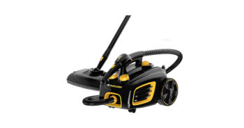 McCulloch MC1375 Black Canister Steam System Vacuum Cleaner image
