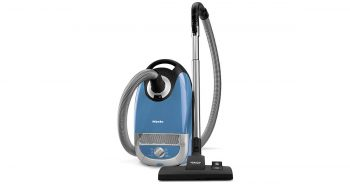 Miele Complete C2 Hard Floor Tech Blue Canister Vacuum Cleaner image