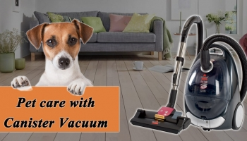 How to remove Pet Hair with Canister Vacuum Cleaner?