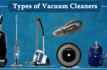 Types of Vacuum Cleaners | Check all and choose the best